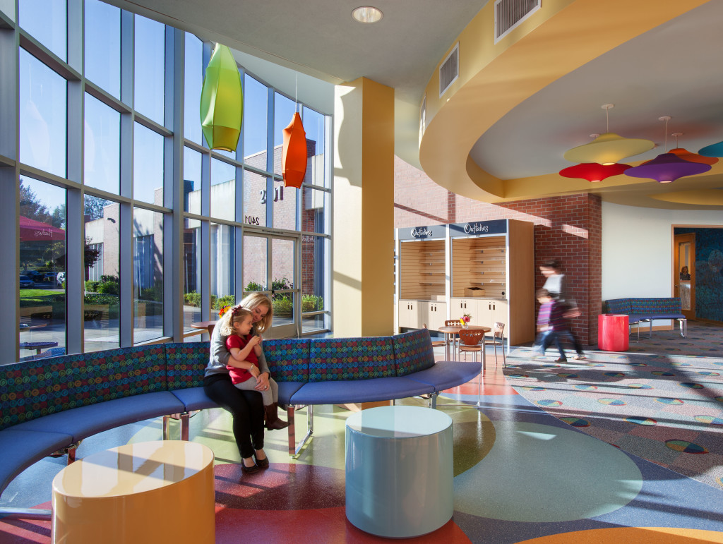 Children's Hospital Oakland - Walnut Creek Campus created by Uhrich Design, Elk Grove, CA