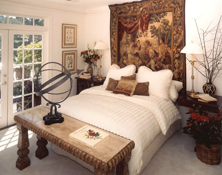Tiburon Home Bedroom created by Uhrich Design, Elk Grove, CA
